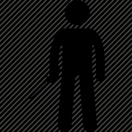 dagger, holding, killer, knife, man, robber, weapon icon