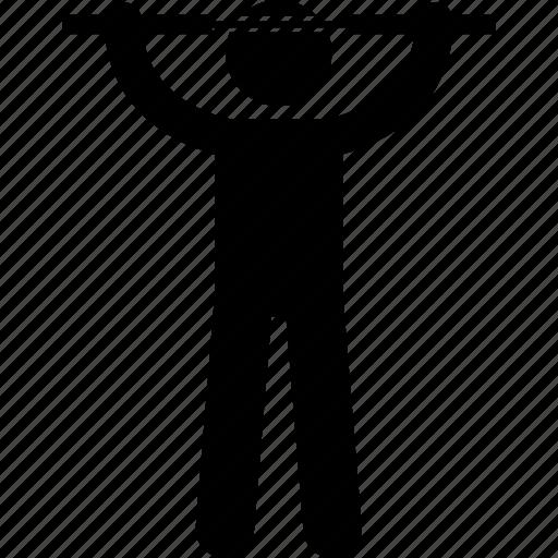 holding, man, martial artist, martial arts, nunchaku, nunchucks, weapon icon