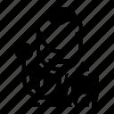 avatar, dentist, man, profession, worker icon