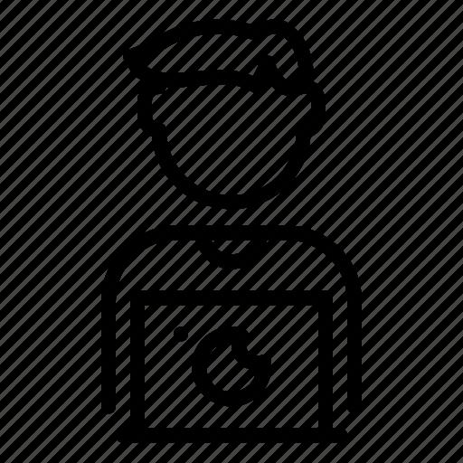avatar, designer, man, profession, user, web, worker icon