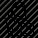 avatar, man, podiatrist, profession, user, worker icon