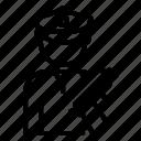 avatar, man, police, profession, user, worker icon