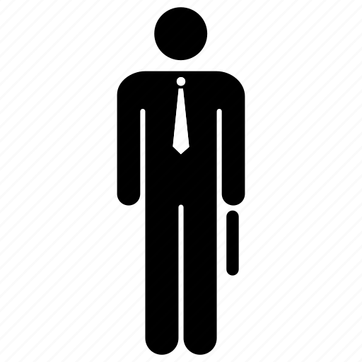 Manager, businessman, person, office, briefcase, tie, officer icon - Download on Iconfinder