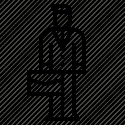 business, man, management, manager, salesman icon