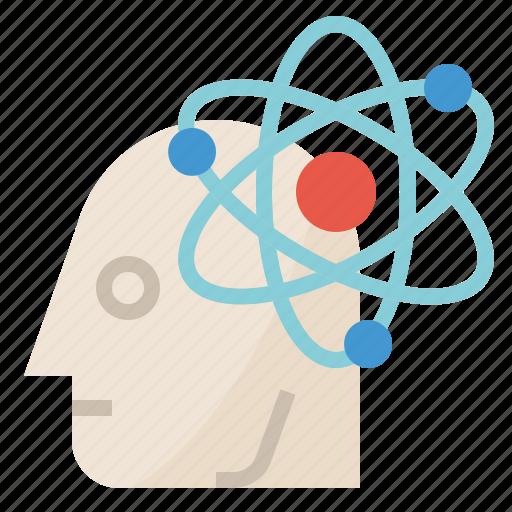 brain, creative, idea, knowledge, thinking icon