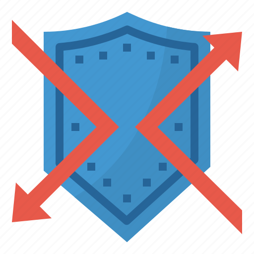 block, safety, security, shield icon