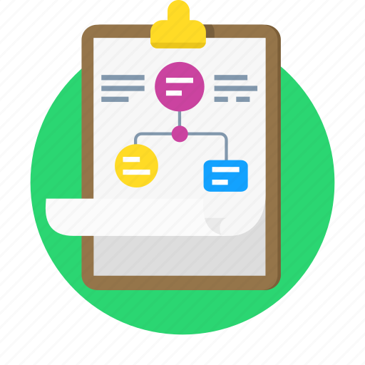 business plan, hierarchy, plan, website, wireframe, workflow icon