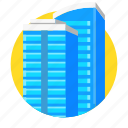 building, business, city, estate, office, real icon