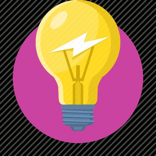bulb, campaigns, creative, idea, lamp, light icon