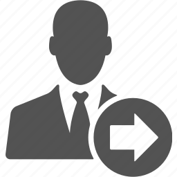 account, avatar, businessman, manager, right, user icon
