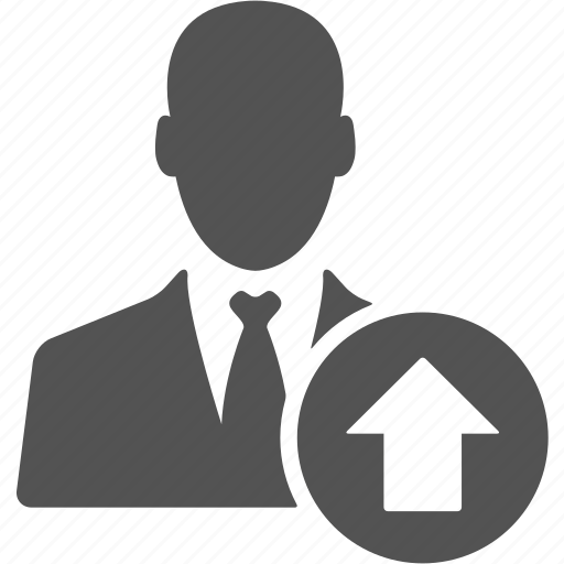 account, avatar, businessman, manager, up, user icon