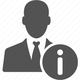 account, avatar, businessman, information, manager, user icon