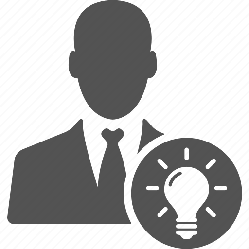 account, avatar, businessman, idea, manager, user icon