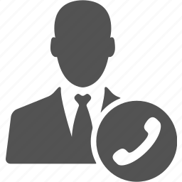 account, avatar, businessman, call, contact, manager, user icon
