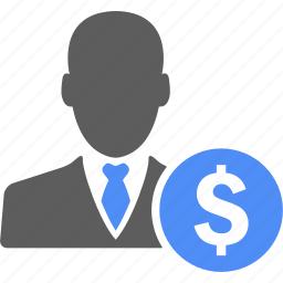 boss, business, businessman, dollar, finance, manager, money icon