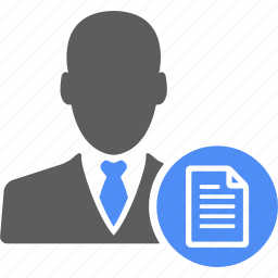 account, businessman, manager, profile, user icon