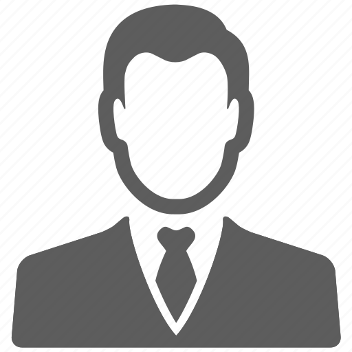 avatar, businessman, male, manager, person, profile, user icon