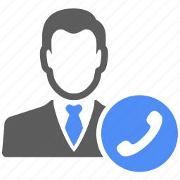 avatar, call, contact, manager, phone, talk, telephone icon