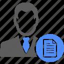 avatar, manager, person, portfolio, profile