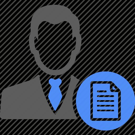 avatar, manager, person, portfolio, profile icon