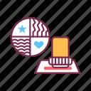 design, manicure, service, nail, tool, stamp, pedicure icon
