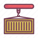 container, manufacturing, shipping icon