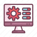 computer, control, manufacturing, panel, pc icon