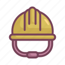 helmet, manufacturing, protection, safety icon