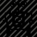 exoframe, exoskeleton, exosuit, powered armor, robot icon