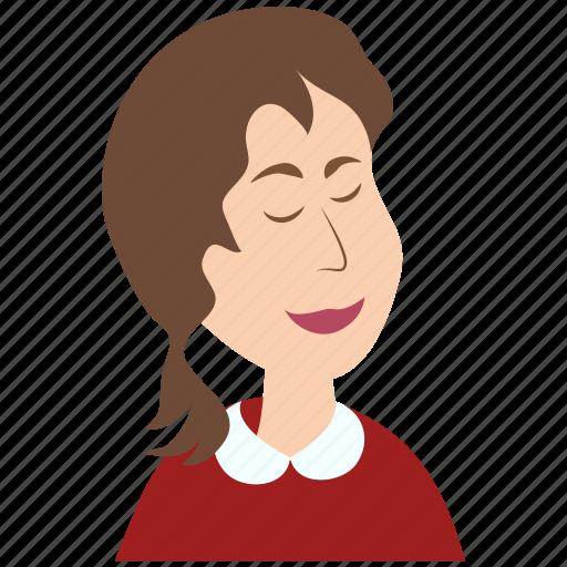 avatar, emoticon, emotion, girl, male, man, user icon