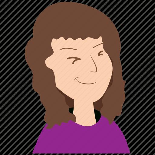 avatar, emoticon, emotion, girl, male, user icon
