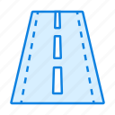 highway, map, road icon