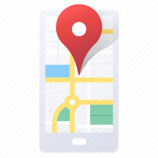 App, direction, location, map, mobile, navigation, gps icon - Download on Iconfinder