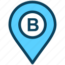 location, map, pin, place, gps, b