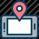 location, map, pin, mobile, navigation, gps