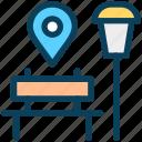 location, map, pin, place, park, navigation