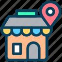 location, map, pin, place, shop, navigation