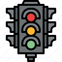 direction, light, sign, traffic