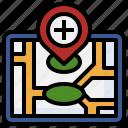 add, location, place, navigation