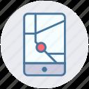 gps, location, map, mobile, navigation, pointer, smartphone