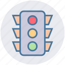 control, lights, map, road, signal, traffic, traffic light