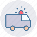 ambulance, car, emergency, hospital, medical, transport, transportation icon