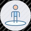 crosshair, direction, location, navigation, user