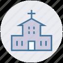 architecture, building, chapel, church, map, place, religion icon