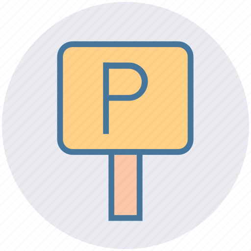 parking, place, road, sign, symbols, traffic icon