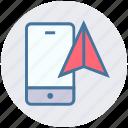 locate, location, mobile, navigation, phone, smartphone icon