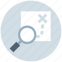 direction, find, location, magnifying glass, navigation, road direction, search icon
