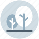 forest, landscape, nature, park, plant, trees, woods icon