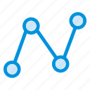 analytics, chart, diagram, graph, infographic, record, statistics icon