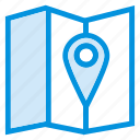 area, direction, location, map, navigation, pin, pointer icon
